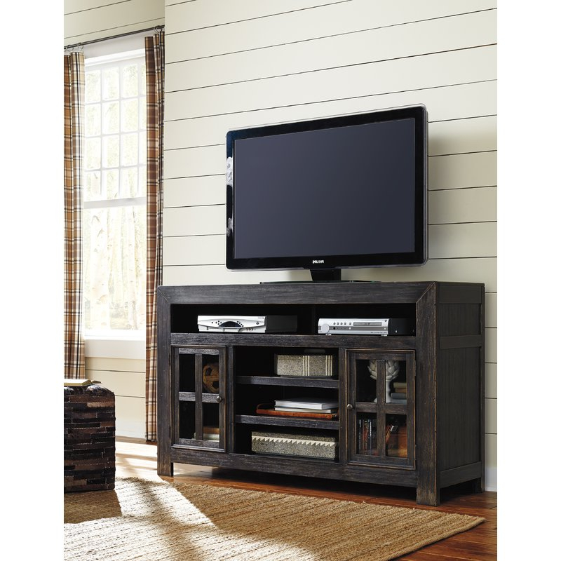 "Signature Designashley Tv Stand For Tvs Up To 65"" & Reviews Intended For Famous Wyatt 68 Inch Tv Stands (View 11 of 20)"