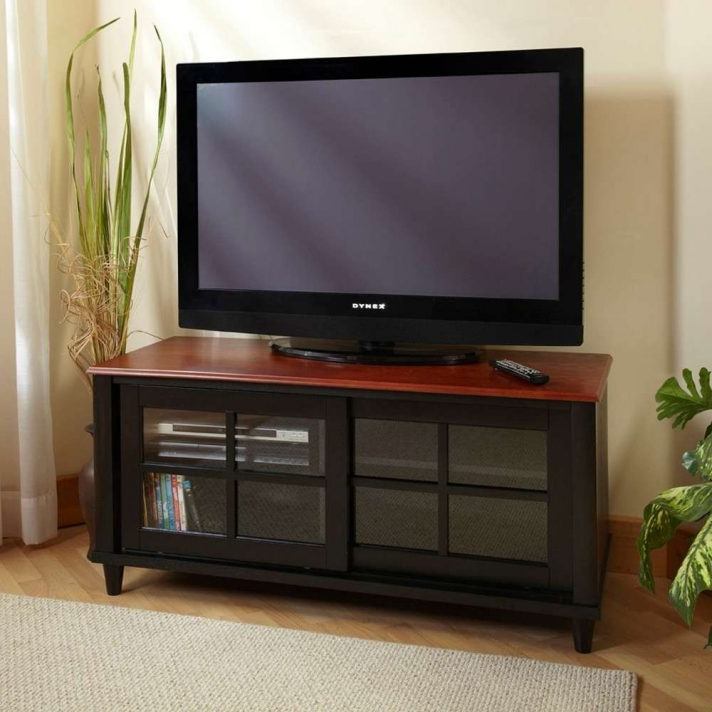 Silver Metal Tv Stand Bobs Montibello Furniture Outlet Tall Black Regarding Fashionable Country Tv Stands (View 15 of 20)