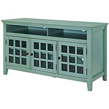 Sinclair Blue 74 Inch Tv Stands Regarding Current Amazon: Progressive Furniture P610e 64 Willow Console, (View 12 of 20)