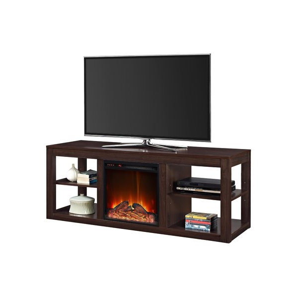 Sinclair Grey 54 Inch Tv Stands With Regard To Widely Used Fireplace Tv Stands & Entertainment Centers You'll Love (View 19 of 20)