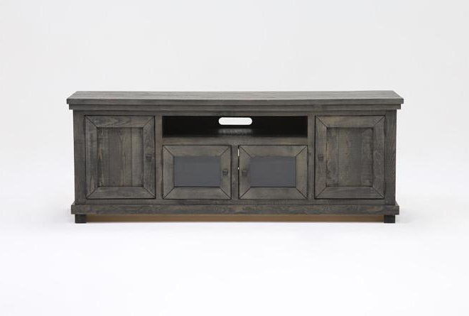 Sinclair Grey 74 Inch Tv Stand (View 8 of 20)