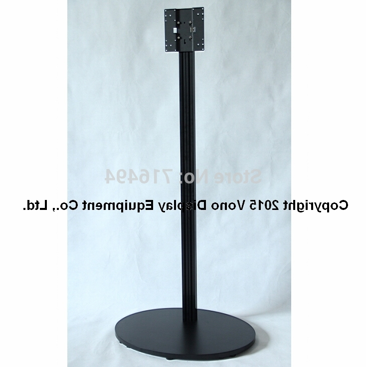 "Single Tv Stands Regarding Fashionable Portable Lcd/led Tv Stand/exibition Product/trade Show/17"" To  (View 18 of 20)"