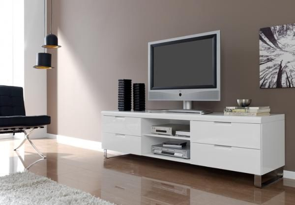 Sitting Pertaining To White High Gloss Tv Stands (View 15 of 20)