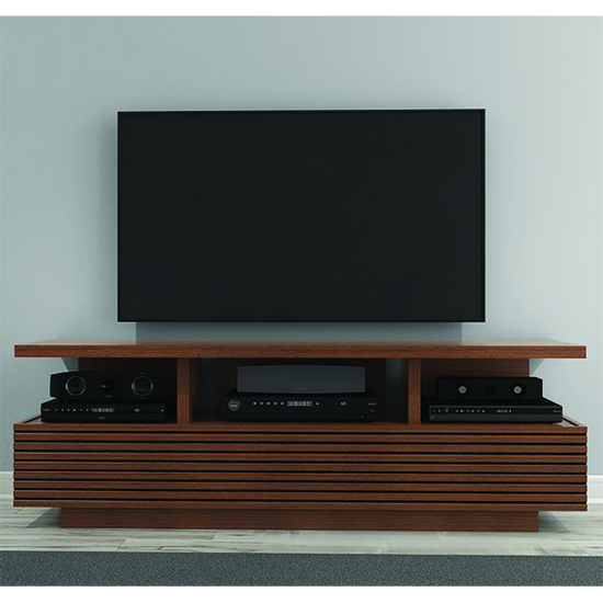 Sleek Tv Stands Pertaining To Trendy Furnitech Samba Sleek Contemporary Tv Stand Media Console Up To (View 18 of 20)