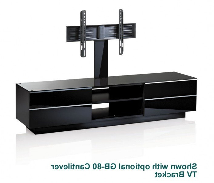 Small Black Tv Cabinets Inside Most Current Black Tv Stands Uk – Tv Cabinets And Furniture (View 12 of 20)