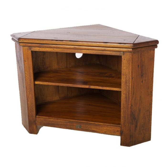 Small Corner Tv Cabinets Inside Latest East Indies Corner Tv Unit Lauries Furniture, Beds, Sofas, (Gallery 15 of 20)