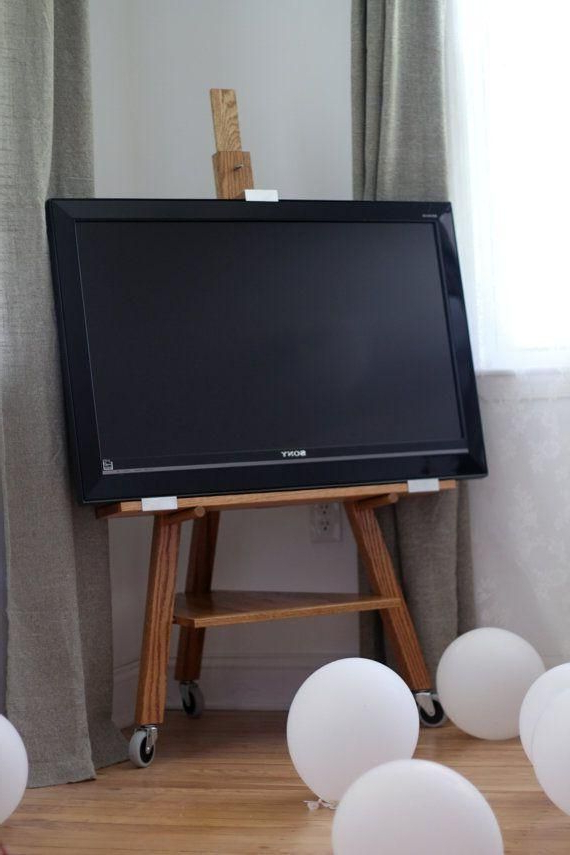 Small Corner Tv Stands For Most Current 13+ Inspirational Diy Tv Stand Ideas For Your Room Home (View 9 of 20)