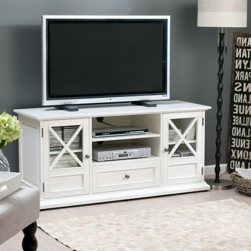 Small Living Regarding Sinclair White 54 Inch Tv Stands (View 4 of 20)