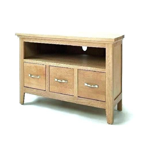 Small Oak Corner Tv Stands With Favorite Shaker Style Tv Stand Latest Small Oak Corner Stands Cabinet And (View 17 of 20)