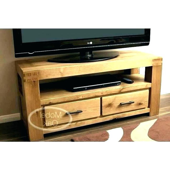 Solid Oak Tv Stand Solid Oak Television Stand Corner Wooden Stands Within Latest Oak Tv Stands For Flat Screens (View 16 of 20)