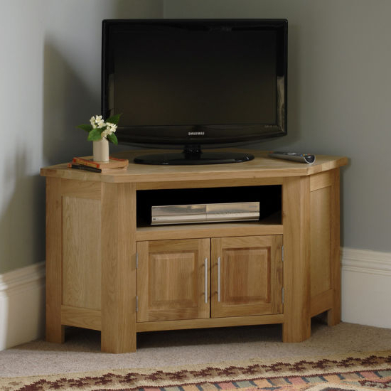 Solid Wood Corner Tv Cabinets Intended For Most Current China Living Room Furniture, Solid Wood Corner Tv Cabinet – China (View 10 of 20)