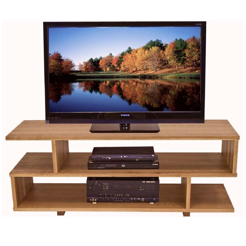 Solid Wood Home Entertainment Furniture Regarding Contemporary Tv Stands (View 19 of 20)