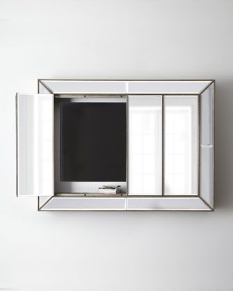 Some Treasures To Inspire You With Well Known Mirror Tv Cabinets (View 19 of 20)