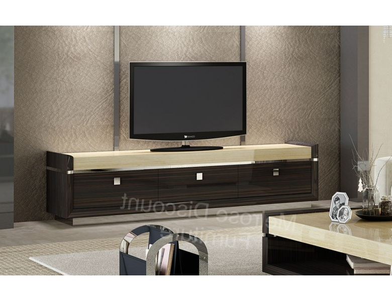 Soprano Modern Style Large Tv Stand Intended For Fashionable Modern Style Tv Stands (View 3 of 20)