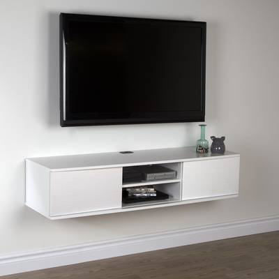 South Shore Agora Wall Mounted Media Console Tv Stand For Tvs Up To In Recent Casey Umber 74 Inch Tv Stands (View 15 of 20)