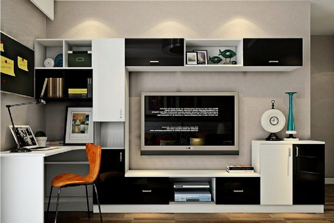 Staggering Computer Desk Tv Stand Combo Photo Ideas Living (View 3 of 20)