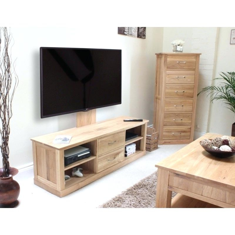 Stand Light Oak Stands Flat Screen Wood With Regard Tv Abbey Corner Regarding Most Up To Date Oak Tv Stands For Flat Screens (View 3 of 20)