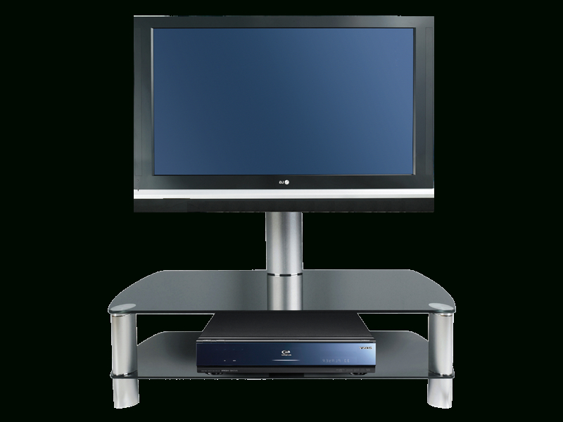 Featured Photo of Swivel Black Glass Tv Stands