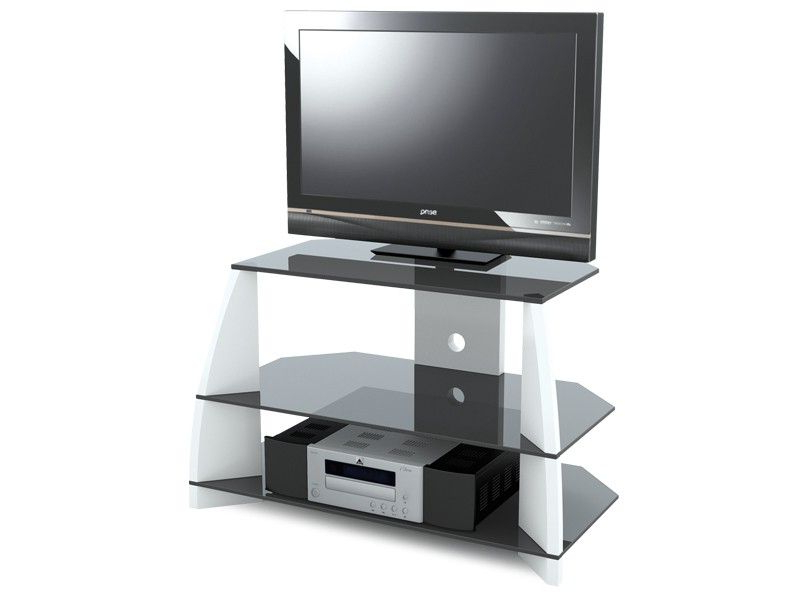 """Stil Tv Stands Inside Widely Used Stil Stand Gloss White Wooden Tv Stand Up To 32"""" Stuk2040 Wh (View 12 of 20)"""