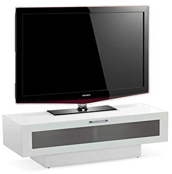 Stil Tv Stands Pertaining To Most Recently Released Stil Stand High Gloss White 1 Tier Tv Cabinet For Up To: Amazon (View 14 of 20)