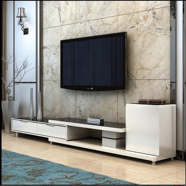 Stylish Tv Cabinets Inside Latest Tempered Glass Tv Cabinet Minimalist Modern Portfolio Stylish Living (View 2 of 20)