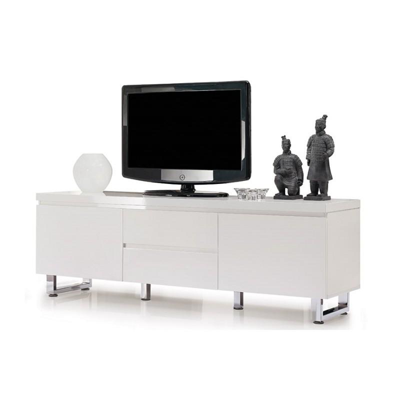 Sydney Iii – High Gloss Tv Unit – Tv Stands (372) – Sena Home Furniture For 2018 White High Gloss Tv Stands (View 13 of 20)