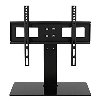 Tabletop Tv Stands For Latest Amazon: Sevenfans Free Height Adjustment Universal Tabletop Tv (View 17 of 20)