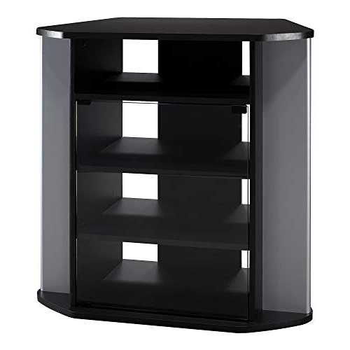 Tall Black Tv Cabinets In Most Recent Tall Tv Stands For Bedroom: Amazon (View 19 of 20)