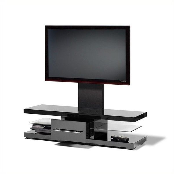 "Tech Link Echo 52"""" Tv Stand (3 425 Sek) ❤ Liked On Polyvore Inside Widely Used Echo Tv Units (Gallery 6 of 20)"
