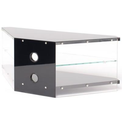 Techlink Air Tv Stands Inside Most Up To Date Techlink Ai110bc Air Corner Tv Stand For Up To 46 Inches – Planet Gizmo (View 2 of 20)