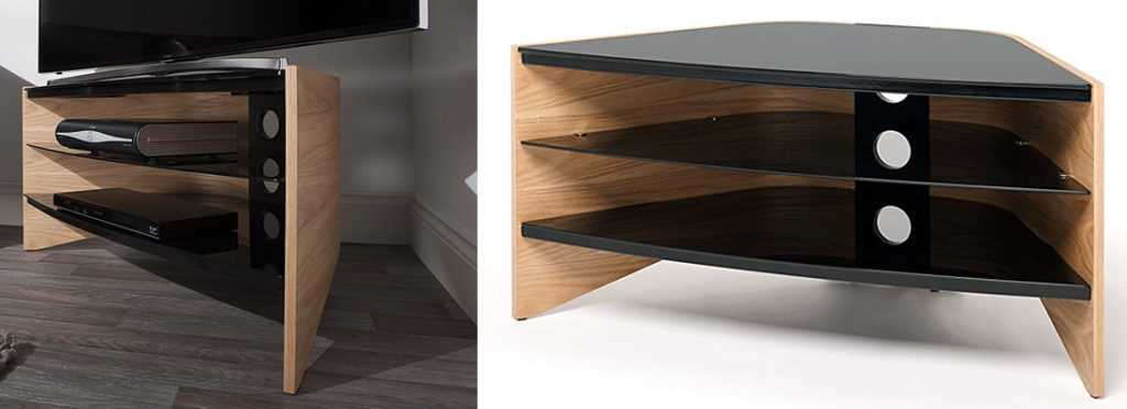 Techlink Bench Corner Tv Stands Within Newest Top 15 Best Corner Tv Stands (View 16 of 20)