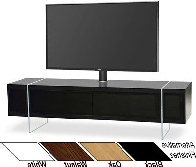"""Techlink Echo Ec130Tvb Tv Stands Regarding Most Current Techlink Echo Ec130Tvb For Up To 60"""" Tvs Cable Tv Stand With Bracket (Gallery 13 of 20)"""