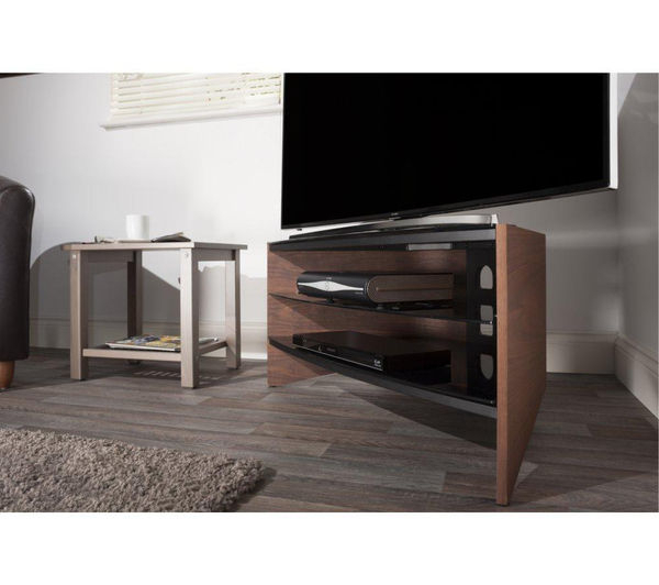 Techlink Tv Stands Sale Regarding Most Recent Techlink Riva 1000 Mm Tv Stand – Walnut Deals (View 15 of 20)