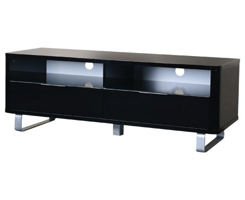Terrific Tv With Shiny Black Tv Stands (Gallery 10 of 20)