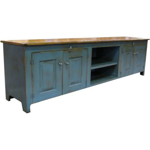 The American In Sinclair Blue 64 Inch Tv Stands (Gallery 4 of 20)