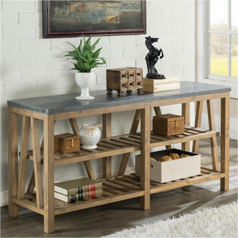 Trendy 16515 Riverside Furniture Weatherford Sofa Table Bluestone Pertaining To Bluestone Console Tables (Gallery 6 of 20)