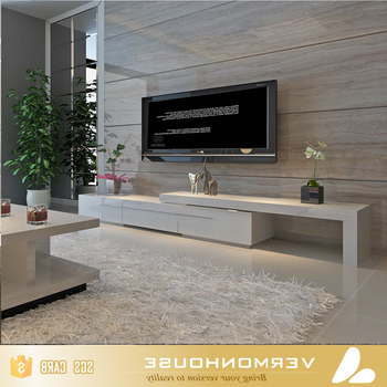 Trendy 2018 High Gloss Lacquer White Tv Cabinet Floating Tv Stand – Buy Tv Regarding High Gloss White Tv Cabinets (Gallery 17 of 20)