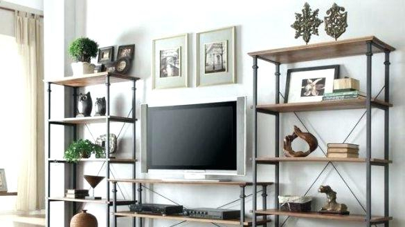 Trendy Bookcase Tv Stand Combo Bookcase Tv Stand Combo Best 4 Living Room Intended For Tv Stands With Bookcases (View 18 of 20)