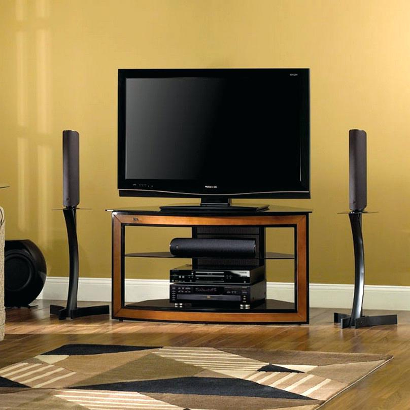 Trendy Corner Tv Stand For 55 Inch Modern Stands Flat Screens Black With Regard To Corner Tv Cabinets For Flat Screen (View 18 of 20)