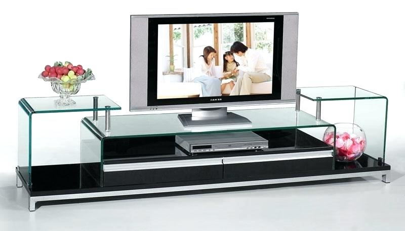 Trendy Decoration: Contemporary Glass Furniture Stand Interior Pool New In Regarding Contemporary Glass Tv Stands (Gallery 11 of 20)