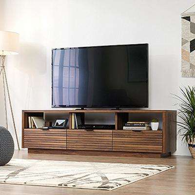 Trendy Entertainment Center – Tv Stands – Living Room Furniture – The Home Regarding Wakefield 97 Inch Tv Stands (Gallery 9 of 20)