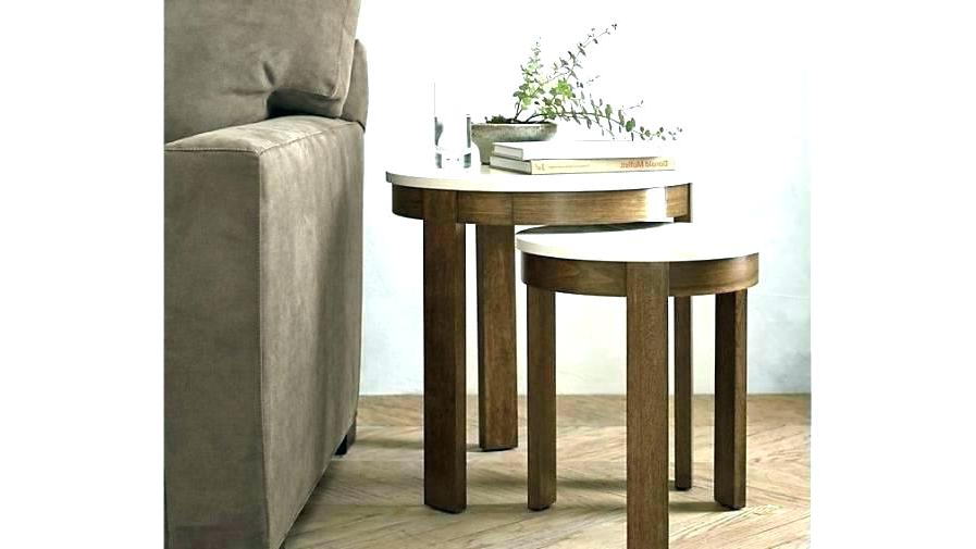 Trendy Era Limestone Console Tables Regarding Crate And Barrel Coffee Table Oval Crate Barrel Era Limestone Round (Gallery 20 of 20)