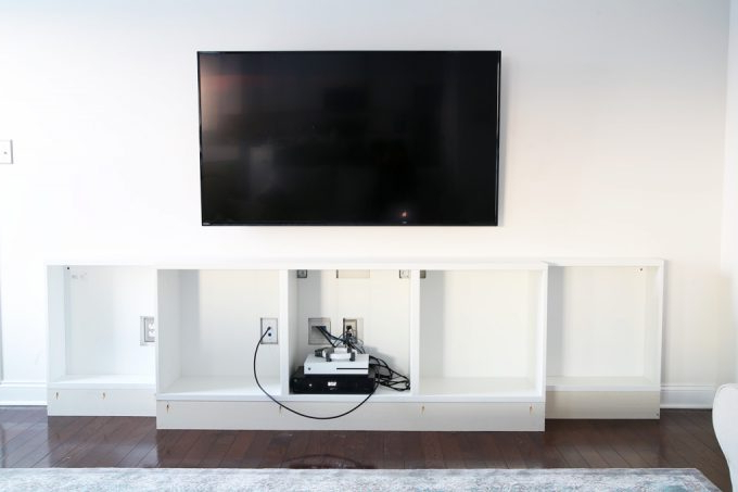 Trendy How To Design, Install, And Add Trim To An Ikea Besta Built In For Ikea Built In Tv Cabinets (View 15 of 20)