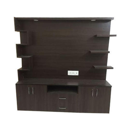 Trendy Led Tv Cabinets Inside Dark Brown Wooden Led Tv Cabinet, Rs 750 /square Feet, Shakib (View 16 of 20)
