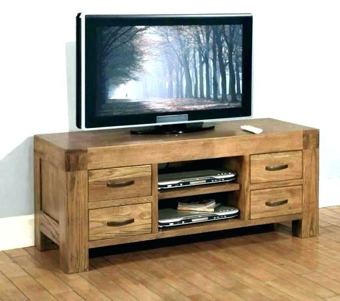 Trendy Light Oak Tv Stands Flat Screen Intended For Light Wood Tv Stand – Niktus (View 18 of 20)