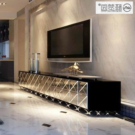 Trendy Mirror Mirror Tv Cabinet Tv Cabinet Minimalist Furniture Glass With Mirror Tv Cabinets (View 20 of 20)
