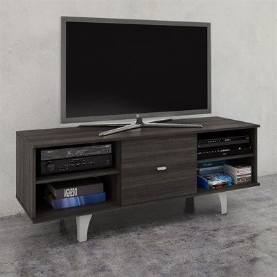 Trendy Nexera Tv Stands Regarding Nexera Jasper 60 In 1 Door Tv Stand (View 18 of 20)