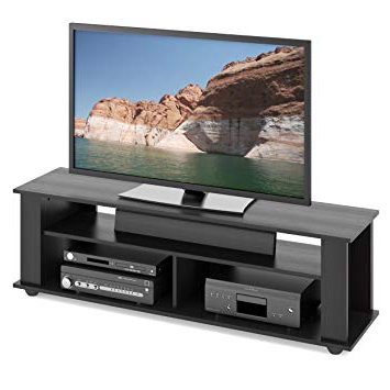 Trendy Oxford 60 Inch Tv Stands Inside Amazon: Corliving Tbf 605 B Bakersfield Tv Stand, Ravenwood (View 17 of 20)
