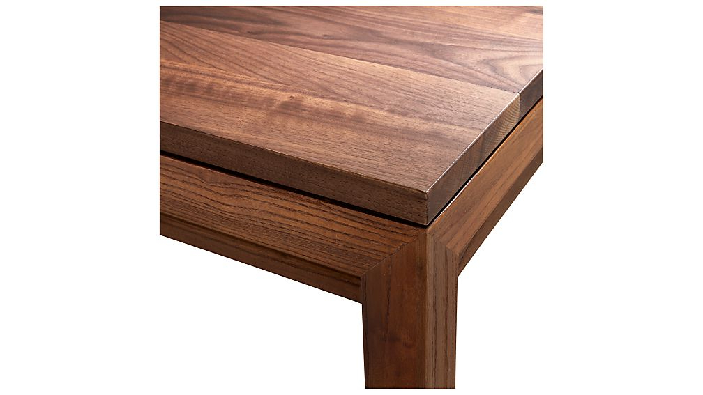 Trendy Parsons Walnut Top/ Elm Base 48x16 Console + Reviews (View 3 of 20)