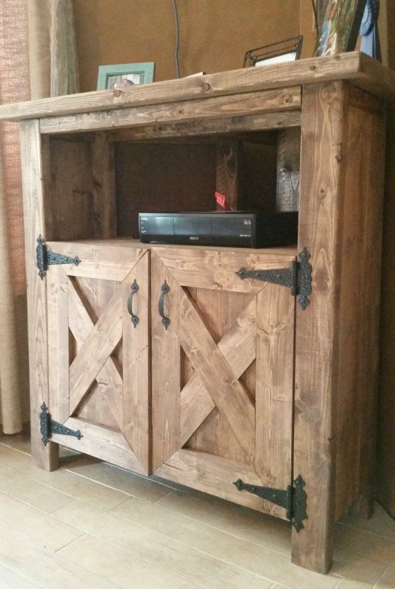 Trendy Rustic Corner Tv Stands With Regard To Pinleslee Knutson On Cabin Stuff (View 10 of 20)